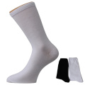 White Black Men's Mid-calf Socks