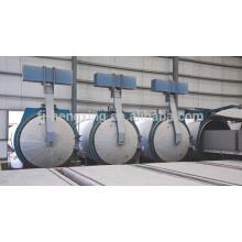 200.000 Kubikmeter pro Jahr Leichtes Gewicht AAC Block Making Machine, autoklavierte Porenbeton Block Maschine