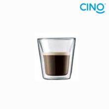 2014 nouveaux produits verre double paroi borosilicate verre coupe italienne petite tasse à café