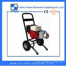 Máquina de pintura de estrada de motor a gasolina