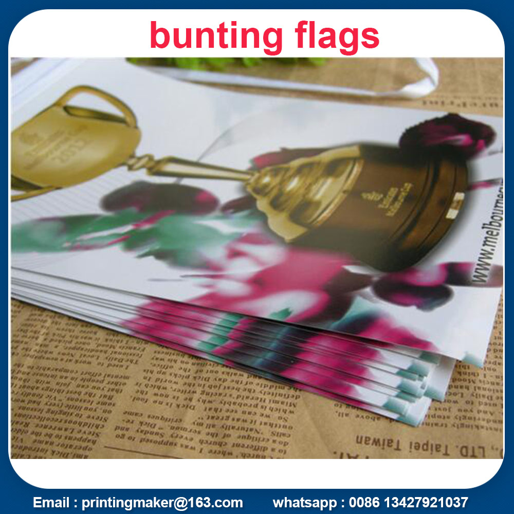 bunting flags banners