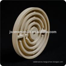 machinable cordierite ceramic heating element round