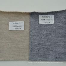 Três cores disponíveis 100% puro tecido de malha de cashmere