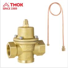 Válvula de controle de pressão automática automático de bronze forjado Self-Operated