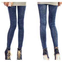 Mode Polyester Jeans Denim Leggings (MC-1)