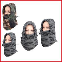 Camo Thermal Fleece Pasamontañas Winter Ski Neck Hoods Máscara de rostro completo