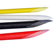 Manchon en fibre de verre revêtu de silicone résistant aux hautes tensions