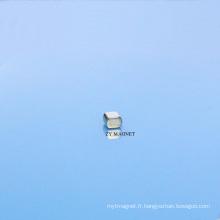 Aimant permanent Ts16949 de néodyme de disque de NdFeB de disque de haute qualité