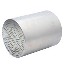 Customized steel stainless steel deep drawn sheet metal part metal filter