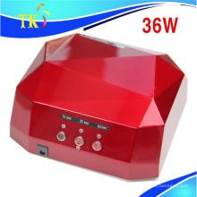 36W Diamant Nagel LED Lampe / Hot Verkauf Dual Uv Induktion Sensor Nagel Lampe