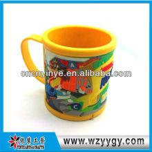 promotionnelles 3D soft pvc tasse cup