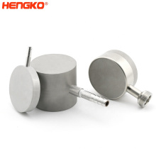 """HENGKO high quality stainless steel oxygen 5 micron diffusion stone with 1/2"""" NPT threads for gas generation"""