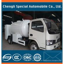 Caminhão de tanque do LPG de 5500liters Citeme com o distribuidor do contador do enchimento