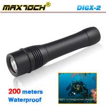 Maxtoch DI6X-2 Cree СИД водонепроницаемый фонарик