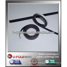 refrigerator magnetic strip with self-adhesive