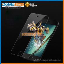 Double-face, protecteur d'écran 4,7 pouces en verre trempé protecteur d'écran iphone 6 gros protecteur d'écran iphone