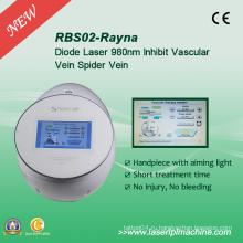 Rbs02 Безболезненный Spider Veins Лазерное удаление Rbs 980nm Диодный лазер