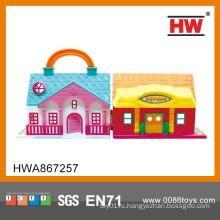 2015 Новый продукт Пластиковые игрушки Детский дом для продажи