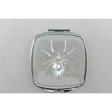 Clear Spider Design Cosmetic Mirrors