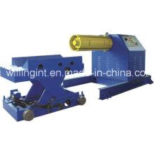 Desbobinador hidráulico automático de gran capacidad de alta calidad de 5 toneladas