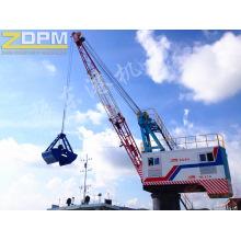 Port fixe relevable avec charge utile de grue / Port Crane