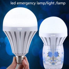 12W PC Led intelligent ampoule intelligente d'urgence