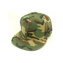 Горячие продажи шляпы Snapback с кожаной нашивкой