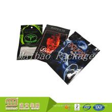 Многослойный Материал, изготовленный на заказ Цвет печать Логоса три стороны Загерметизированная небольшой 3г 5г Пластиковые алюминиевой фольги молния сумки