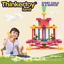 Детские развивающие игрушки DIY пластиковые строительные блоки для продажи