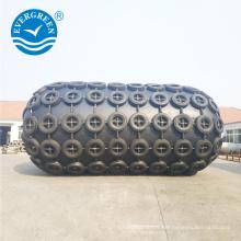 amortisseur pneumatique en caoutchouc de sous-marin de type net pour le transfert de bateau à bateau