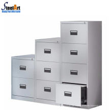 Gabinete de gaveta de metal armário de bloqueio vertical vertical 4 gaveta