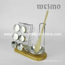 Porte-bouteilles Spice Wkb0320A en bambou
