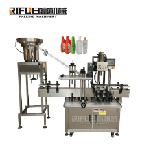 High quality alcohol Sanitizing gel Hand sanitizer bottles Wet paper towels barrels Automatic Screw lid Capping Machine
