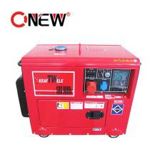 5 Kw 5kw 380V 220V Portable Super Silent Soundproof Diesel Solar Power Generator Low Rpm Permanent Magnet Generator for Sale
