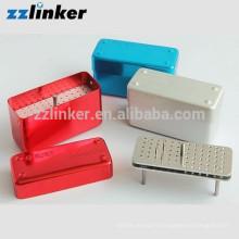 ZZLINKER 72 trous Dental Bur Block Storage Désinfection Box Holder