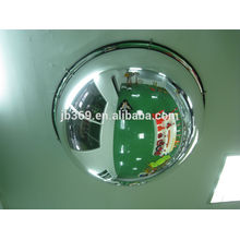 360 degree road acrylic dome convex mirror