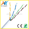 guangdong fiber optic cable cat 5e cable types internet provider 4pairs 300m cat 6 utp data cable ethernet cable