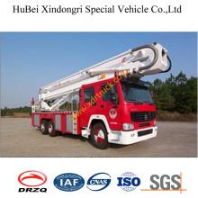 8ton Steyr espuma camión de rescate aéreo Euro3