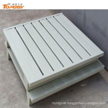 Manufacturer customized single side steel pallet