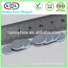starke magnetische Ndfeb n35 Magnet 12 x 2