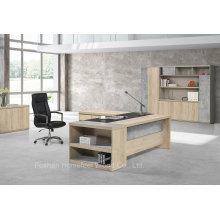 Tabela de escritório de mesa de gerenciamento de melamina de madeira barata (HF-ZTHH1032)