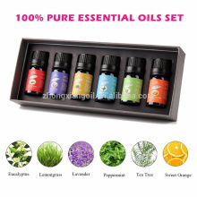 6pc 10ml Essential Oils Set Massage Oils Set