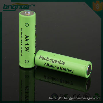 1.5v lr6 aa rechargeable alkaline battery with PVC jackets online sex shop