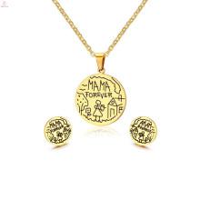 Poids léger 2 Gram Indiens 22K Plaqué Or Designs Kundan Boucles d'oreilles Set