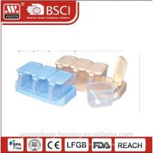 #7114 plastic cruet set