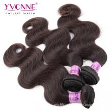 Color #2 Human Hair Weave Peruvian Hair