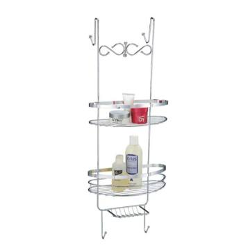 Metal Dengan Chrome Finished Bathroom Rack