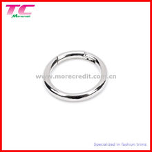 Round Shape Metal Snap Ring with Spring