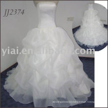 2011 lovely design free shipping high quality elgent sweetheart ball gown style cheap bridal wedding dress 2011 JJ2374
