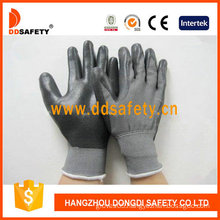 Black Nitrile Coating Glove-Dnn468